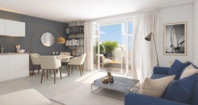 Appartement 4 Pièces 93m² (T4) Port Marianne (Montpellier Est)