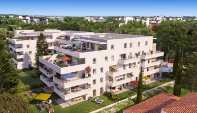 Appartement 2 Pièces 39m² (T2) La Lironde (Montpellier Est)
