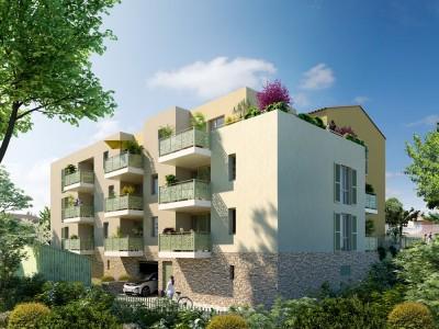 Appartement 2 Pièces 38m² (T2) Aiguelongue (Montpellier Nord)