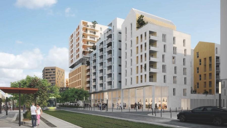 Image Appartement 3 Pièces 70m² (T3) Port Marianne (Montpellier Est)