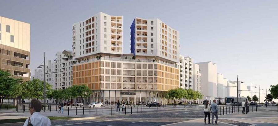 Image Appartement 4 Pièces 95m² (T4) Port Marianne (Montpellier Est)