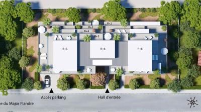 Appartement 3 Pièces 60m² (T3) Aiguelongue (Montpellier Nord)