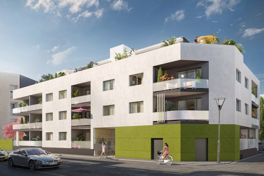 Image Appartement 3 Pièces 63m² (T3) Castelnau-le-Lez (Montpellier Est)