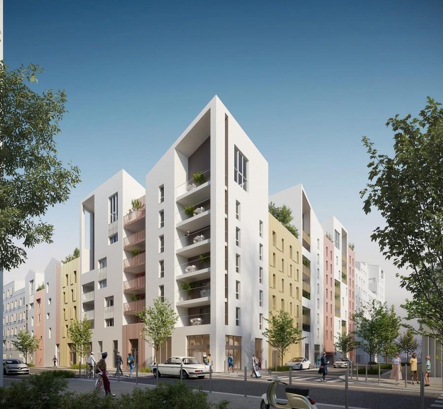 Image Appartement 2 Pièces 40m² (T2) Port Marianne (Montpellier Est)