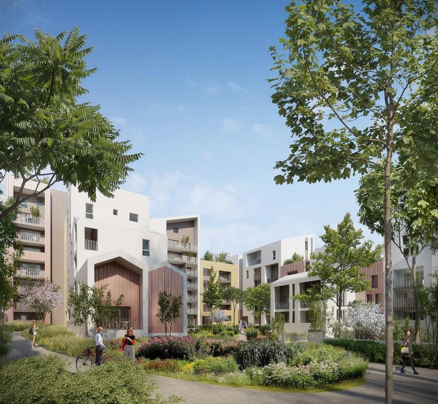 Image Appartement 2 Pièces 52m² (T2) Port Marianne (Montpellier Est)