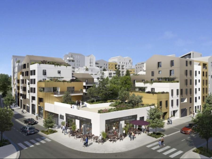 Image Appartement 2 Pièces 38m² (T2) Port Marianne (Montpellier Est)