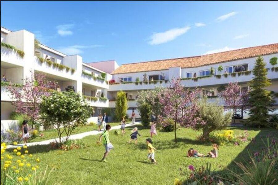 Image Appartement 1 Pièce 33m² (Studio) Vendargues (Montpellier Est)