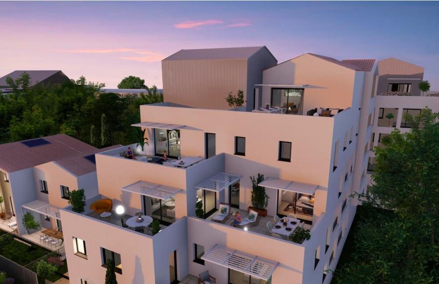 Image Appartement 3 Pièces 66m² (T3) Saint-Jean-de-Vedas (Couronne Ouest)