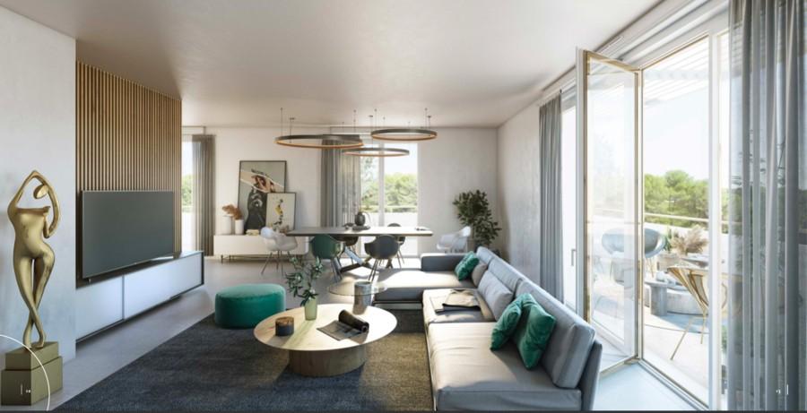 Image Appartement 4 Pièces 88m² (T4) Castelnau-le-Lez (Couronne Est)