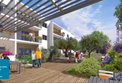 Appartement 1 Pièce 34m² (Studio) FIGUEROLLES (Montpellier Sud)