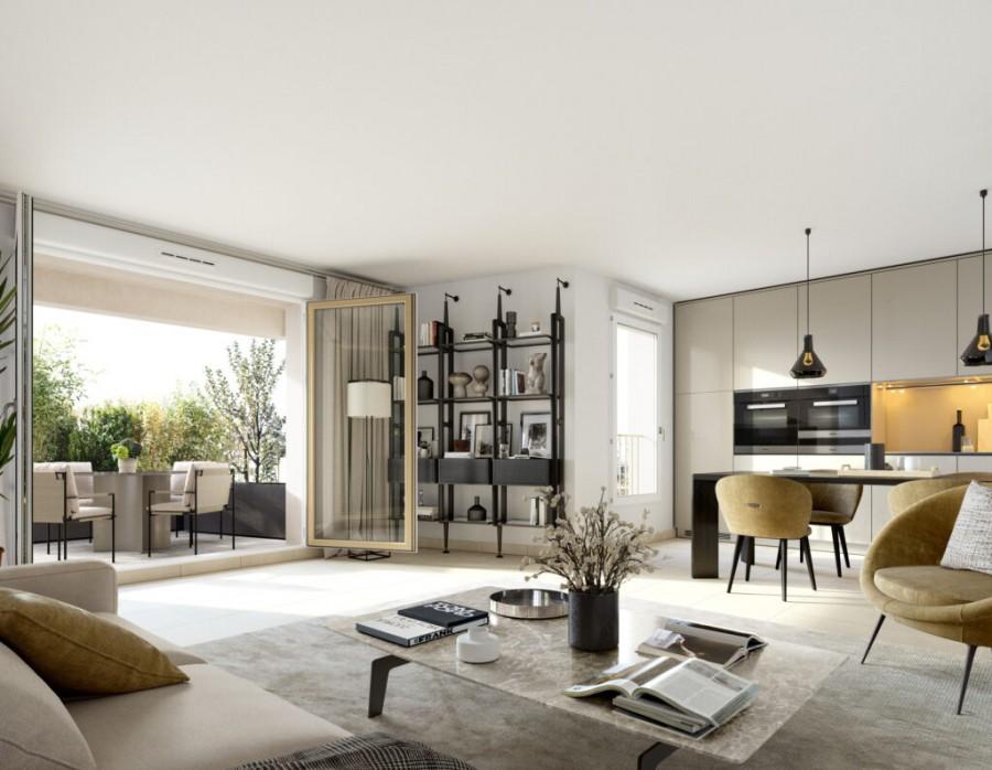 Image Appartement 2 Pièces 34m² (T2) Estanove (Montpellier Sud)
