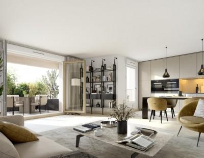 Appartement 3 Pièces 59m² (T3) Estanove (Montpellier Sud)