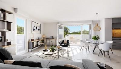 Appartement 3 Pièces 63m² (T3) Castelnau-le-Lez (Couronne Est)