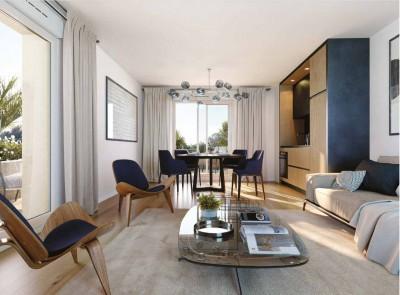 Appartement 3 Pièces 59m² (T3) Castelnau le Lez (Couronne Est)