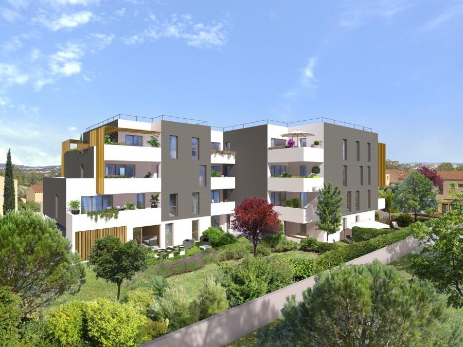 Image Appartement 2 Pièces 45m² (T2) Aiguerelles (Montpellier Sud)