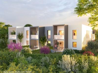 Appartement 2 Pièces 43m² (T2) Parc Montcalm - Estanove (Montpellier Ouest)