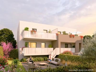 Appartement 4 Pièces 80m² (T4) Parc Montcalm - Estanove (Montpellier Ouest)