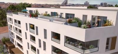 Appartement 3 Pièces 58m² (T3) Figuerolles (Montpellier Ouest)