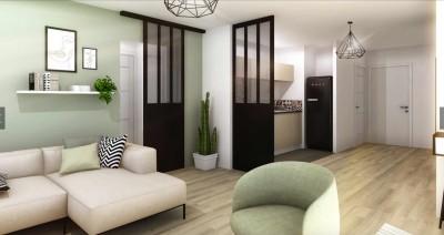Appartement 3 Pièces 61m² (T3) POMPIGNANE (Montpellier Est)